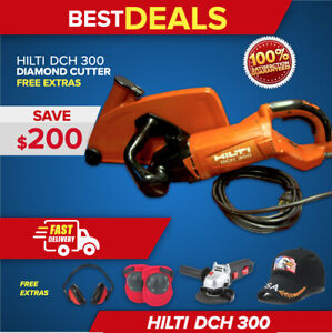 Hilti Dch 300 Electric Diamond Cutters Preowned Free Extras Fast Ship