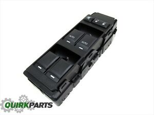 Chrysler 200 Sebring 6 Gang Drivers Master Power Window Door Lock Switch Mopar