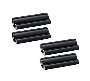 4x Refill Rolls For Sharp Fo 15cr Ux 15cr Fo 1450 Fo 1460 Ux 1100 Ux 3500