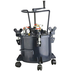 California Air Tools 1 4 inch 80 psi 5 gallon Portable Pressure Pot Paint Tank
