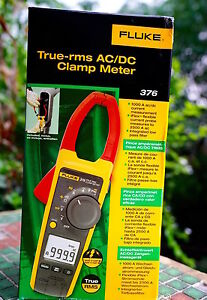 Fluke 376 375 374 Digital Clamp Meter 600 1000a Ac Dc Current Voltage Multimeter