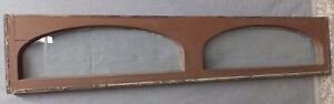 Antique Double Arched Transom Window Sash Old Vintage Shabby Cottage Chic 212 16
