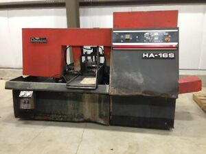 Amada Ha16s Automatic Horizontal Band Saw