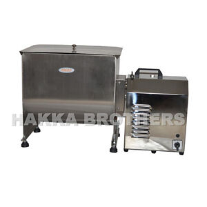 Hakka 60 Pound 30 Liter Capacity Tank Commercial Electric Meat Mixer Fme30b