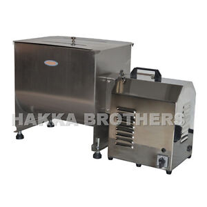 Hakka 80 Pound 40 Liter Capacity Tank Commercial Electric Meat Mixer Fme40b