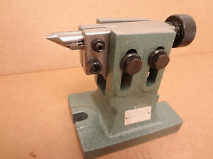 Yuasa 553 300 Adjustable Tailstock For 8 Rotary Tables 5 31 Centerline Height
