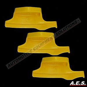 Corghi Tire Changer Mount Demount Head 3pk Premium Yellow 450310