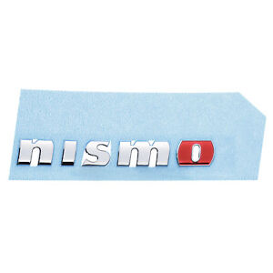 New 2009 2014 Nissan 370z Rear Bumper Nismo Emblem Badge Nameplate Decal Oem