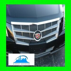 2008 2013 Cadillac Cts Chrome Grille Grill Trim 2009 2010 2011 2012
