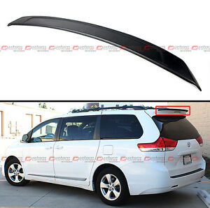 Mp Style Add On Rear Roof Sport Spoiler Wing For 2011 2016 Toyota Sienna Le Se