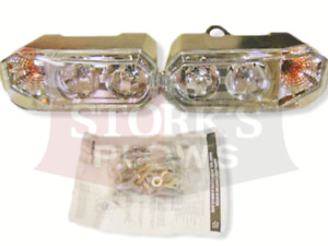 New Style Hiniker Plow Lights Snowplow Light Kit Dual Bulb 25013250 25013251