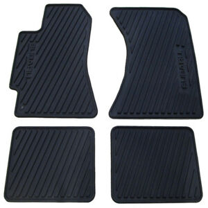 Oem 2000 2004 Subaru Legacy Outback 03 06 Baja All Weather Floor Mats Rubber New