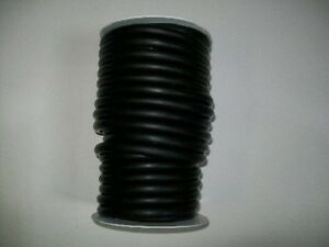50 Feet 3 8 I d X 1 16 Wall X 1 2 O d Latex Rubber Tubing Black Surgical Tube