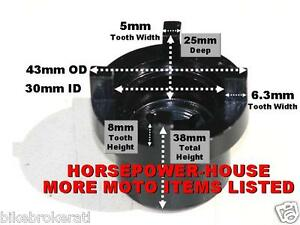 30mm Special Socket Tool To Remove Top Steering Lock Nut Many Honda Motorcycles
