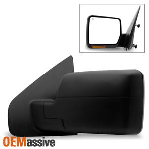 Fit 2004 2006 Ford F150 Power Heated Driver Side Mirror W build in Led Signal