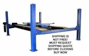 New Triumph 16k 4 Post Hydraulic Automotive Alignment Vehicle Car Truck Lift