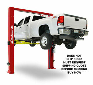 New Usa Made Challenger Cl12 Plus Cl12 12 000 Lb 2 Two Post Auto Automotive Lift