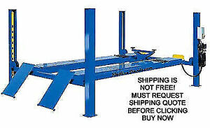 New Triumph Ntr12a 12k 12 000 4 Four Post Car Auto Automotive Alignment Lift