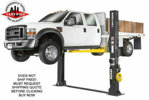 New Bendpak Xpr 12fdl 2 Post Car Truck Hydraulic Automotive Vehicle Shop Lift