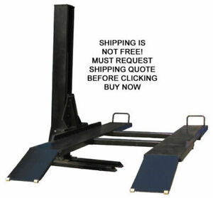 New Kernel 6k 6 000 Lb Single Post Storage Car Auto Automotive Truck Lift Rack