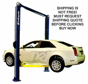 Challenger Sa10 10 000 Lb 2 Two Post Auto Automotive Symmetric Asymmetric Lift