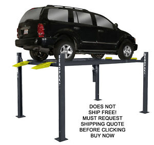 New Bendpak Hd 7p 4 Post Vehicle Car Truck Hydraulic Storage Parking High Lift