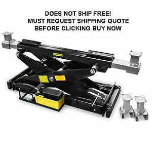 New Bendpak Rj 15 Shop Automotive Car Truck Hydraulic Lift Rolling Bridge Jack