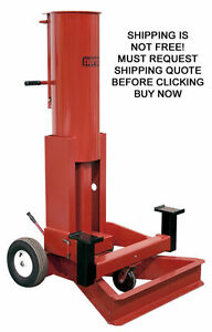New Norco 10 Ton Portable Mobile Rolling Automotive Truck Air Lift Jack Post