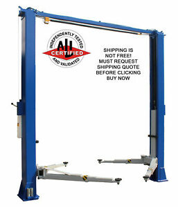 Etl ali Ideal 10k 10000 Lb 2 Two Post Car Truck Auto Automotive Asymmetric Lift