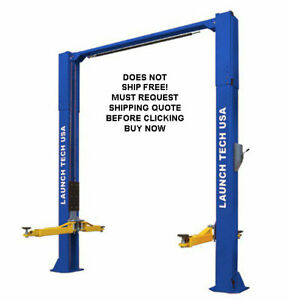 New Launch 10k 10 000 Lb Asymmetric 2 Two Post Auto Automotive Car Truck Lift
