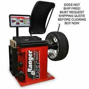 New Ranger Dst64t Digital Tire Automotive Lift Machine Mounting Wheel Balancer