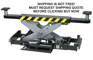 Challenger 7500 Lb 4 Post Car Auto Automotive Truck Lift Bridge Rolling Air Jack