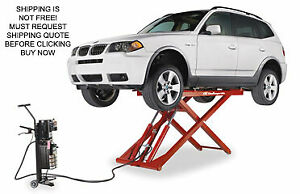 New Challenger Mr6 6 000 Lb Mid Rise Car Mobile Vehicle Automotive Scissor Lift