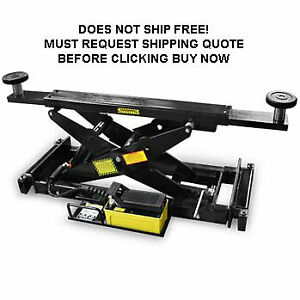 Bendpak Rj 9 4 Post Shop Automotive Car Truck Hydraulic Lift Rolling Bridge Jack