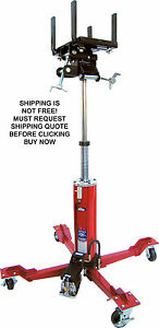 New Norco Telescopic Air Hydraulic Under Hoist Automotive Transmission Jack