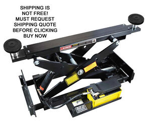 New Bendpak Rj 7 Automotive Vehicle Car Truck Hydraulic Lift Rolling Bridge Jack
