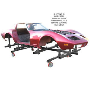 Autotwirler Auto Twirler Pro Body Dolly Restoration Automotive Cart Stand