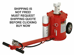 New Norco 10 Ton Portable Mobile Rolling Automotive Car Truck Air Lift Jack