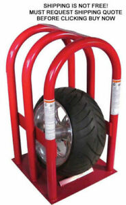 New K amp l Supply Tire Safety Inflation Cage Bead Atv Steel Heavy Duty Media