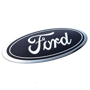 2015 2017 Ford Edge Front Grille Blue Ford Oval Emblem Oem New Ft4z 8213 a