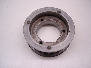 Nascar Jesel Sbc Belt Drive Lower Crankshaft Pulley Gear Ply35512 Bbc Snout