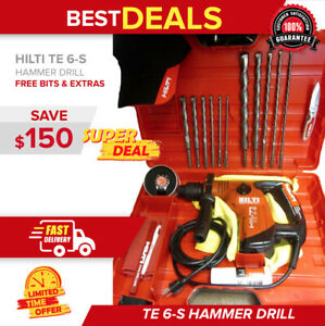 Hilti Te 6 s Drill Free Sets Of Drill Bits Heavy Duty Case One Of The Best