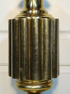 Marbro Brass Lamp Chinoiserie Lantern Moroccan Mid Century Hollywood Regency