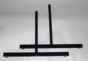 Grid Gridwall Panel Legs Stand Retail Store Fixture Lot Of 5 Set Of 2 Legs New