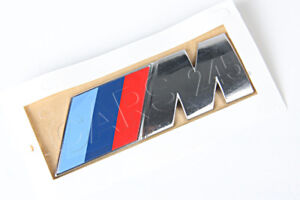 Genuine Bmw E70 Suv M Power Emblem Badge Logo Sign Oem 51147250849