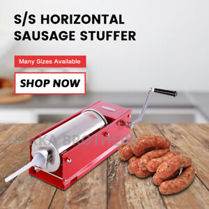 Hakka 5l 11lb Sausage Stuffer 2 Speeds Horizontal Meat Fillers Ch5