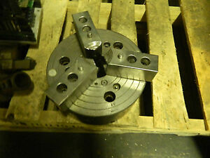 10 3 Jaw Power Lathe Chuck A8 Mounting Tag Wore Out Used