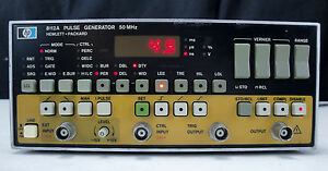 As is Parts Hp 8112a Pulse Generator