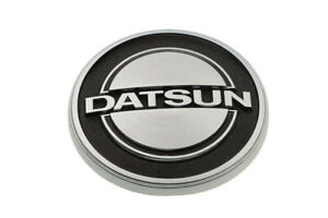 1970 1974 Nissan Datsun 240z Chrome Hood Bonnet Logo Emblem Badge Oem New