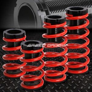 For 91 99 Mit 3000gt Gto Red 0 3 adjustable Coilover Suspension Lowering Spring